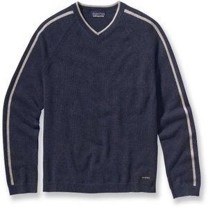 Patagonia Wool Cashmere Navy Sweater XXL